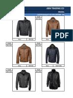 Wholesale Price List _ Men's Genuine Leather Jackets & Coats 3