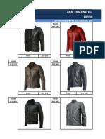 Wholesale Price List _ Men's Genuine Leather Jackets & Coats 4
