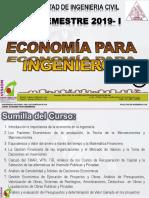 Clase 01 Economia Para Ing 2019 - i Introduccion Diapositivas