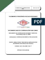 Dbc - Obras Civiles y Mecanicas Ampliacion Red Secundaria San Ignacio de Velasco