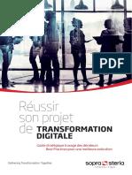 Livre Blanc Sopra Steria Reussir Son Projet de Transformation Digitale