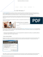 Optimizar Discos Duros SSD Windows 7 - Trucos Windows 7