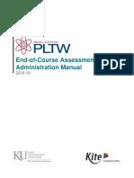 HC6 PLTW Kite Administration EOC Manual