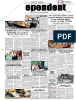Daily Independent Quetta - 29 May 2019