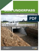 R4.5 Hynds Box Culvert Underpass System