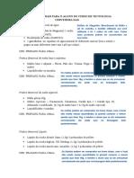Lista de Materiais TC EAD