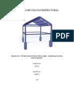 Memoria de Cálculo Estructura1