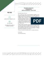 Carta Presentación Alexandra Jimenez