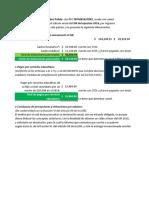 Caso Práctico Cálculo Anual Del ISR Del Ejercicio (Art. 151 y 152 LISR).
