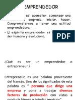 Clase 1 El Emprendedor