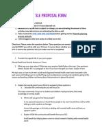 copy of sle proposal form  1