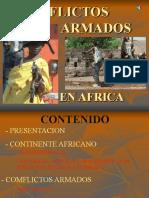 Conflictos armados de africa.pps