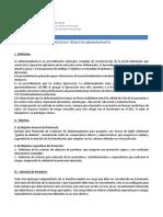 Protocolo abdominoplastia