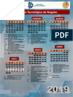 Calendario i 2019