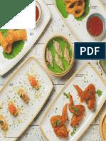 Carta Menu Sushi Green 2019