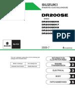 Catalogo de Partes DR200SE (K6-K7-K8-K9-L10) - 2006 a 2010
