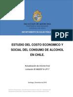 Estudio del costo economico y social del consumo de alcohol en Chile