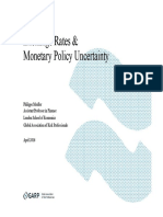 Exchange Rates and Monetary Policy Uncertainty