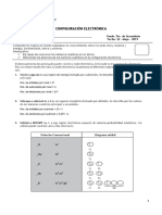 Ficha de Clase - Configuracion Electronica