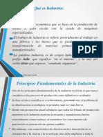 Clase 2 Que Es La Industria 2019