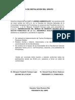 Acta de Sesion de Instalacion Del Gmps