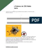 Amplificador Estéreo de 250 Watts Complementario.pdf