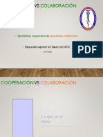 Cooperación - Colaboración