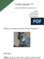 Fraise Machine