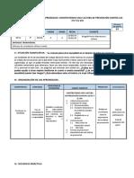 3 SESION - 2U -DPCC - Cultura de Prevencion