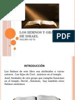 Los Himnos y Oraciones de Israel