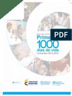 Plan de Accion de Salud Primeros 1000 Dias de Vida