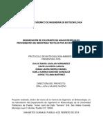 PROTOCOLO DE BIOTECNOLOGÍA AMBIENTAL