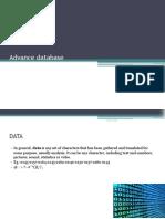 advance database