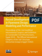 (Sustainable Civil Infrastructures) Sherif El-Badawy, Ragaa Abd El-Hakim - Recent Developments in Pavement Design, Modeling and Performance_ Proceedings of the 2nd GeoMEast International Congress and