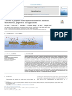 A Review of Graphene-based Separation Membrane
