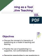 Questioning Presentation