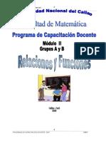 Modulo II - Relaciones y Funciones 2 - Matematica