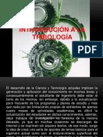 Introducción a la Tribología