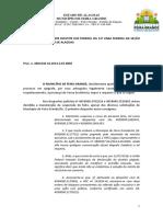 Req - Gomes Pereira x Município de Joaquim Gomes - bloqueio de valores - 0800103-57.2014.4.05.8002
