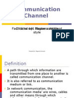 Lecture 2 (Communication Channel)