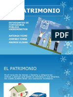EL PATRIMONIO. Exposicion Yindo SI