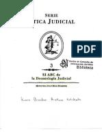 El ABC de La Deontologia Judicial