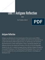 bradley alford - antigone reflection
