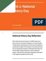 bradley alford - nhd reflection