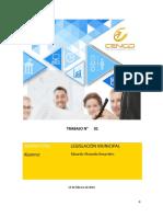 Evaluacion i Legislacion Municipal Eduardo Alvarado