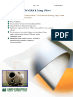 PTEF M_PTFE GBK Sheet, PFA Welding Rod and Cap Strip