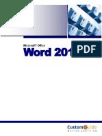 Word 2013 Workbook