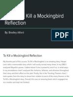 bradley alford - tkam reflection