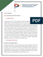 Ensayo Planificacion Estrategica Paola b.