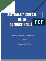 Sistemas y Ciencia de La Administración